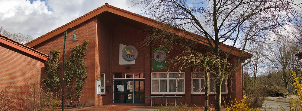 Eingangsbereich der Grundschule Huntlosen